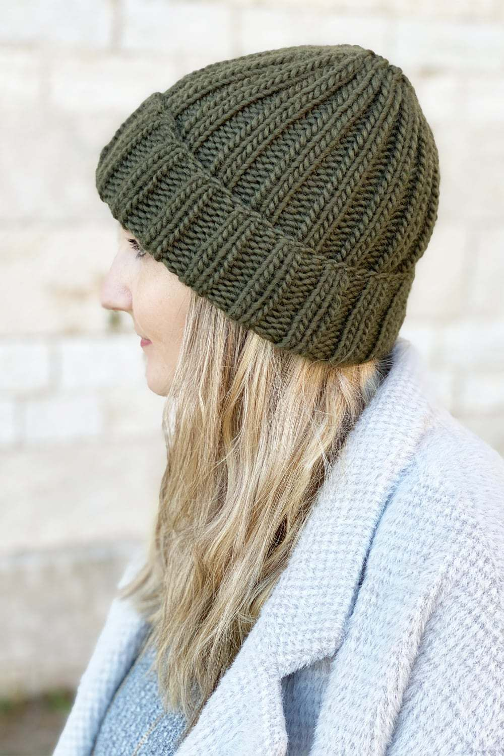 Ribbed Beanie Knitting Pattern {Unisex Mariner's Hat} in ...