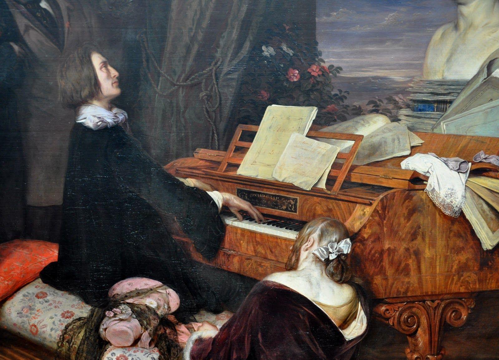 Franz Liszt Classical Composer Quotes Aforismi Classic Art Painting Music Art
