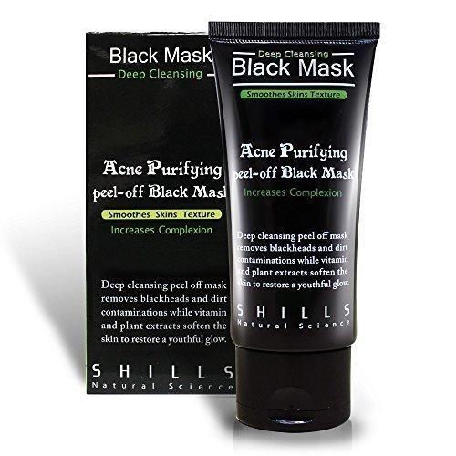black mask face wash