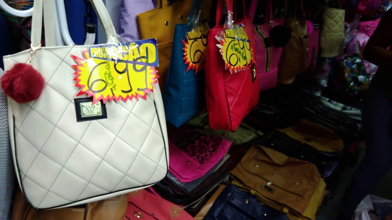 BRÁS SO BOLSAS SHOPPING FAMMA PARTE 02  143dfc2a6