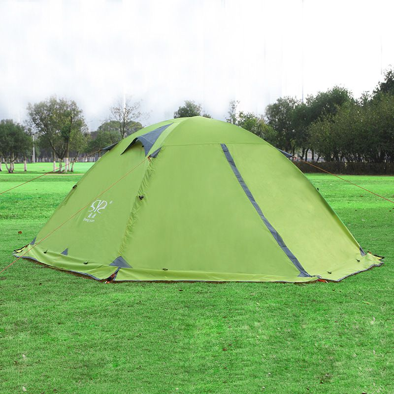 Cheap outdoor hiking tents Buy Quality tent waterproof 2 person directly from China c&ing tent waterproof Suppliers Double Layer C&ing Tents ...  sc 1 st  Pinterest & 210*150*115cm Double Layer Camping Tents Waterproof 2 Person ...