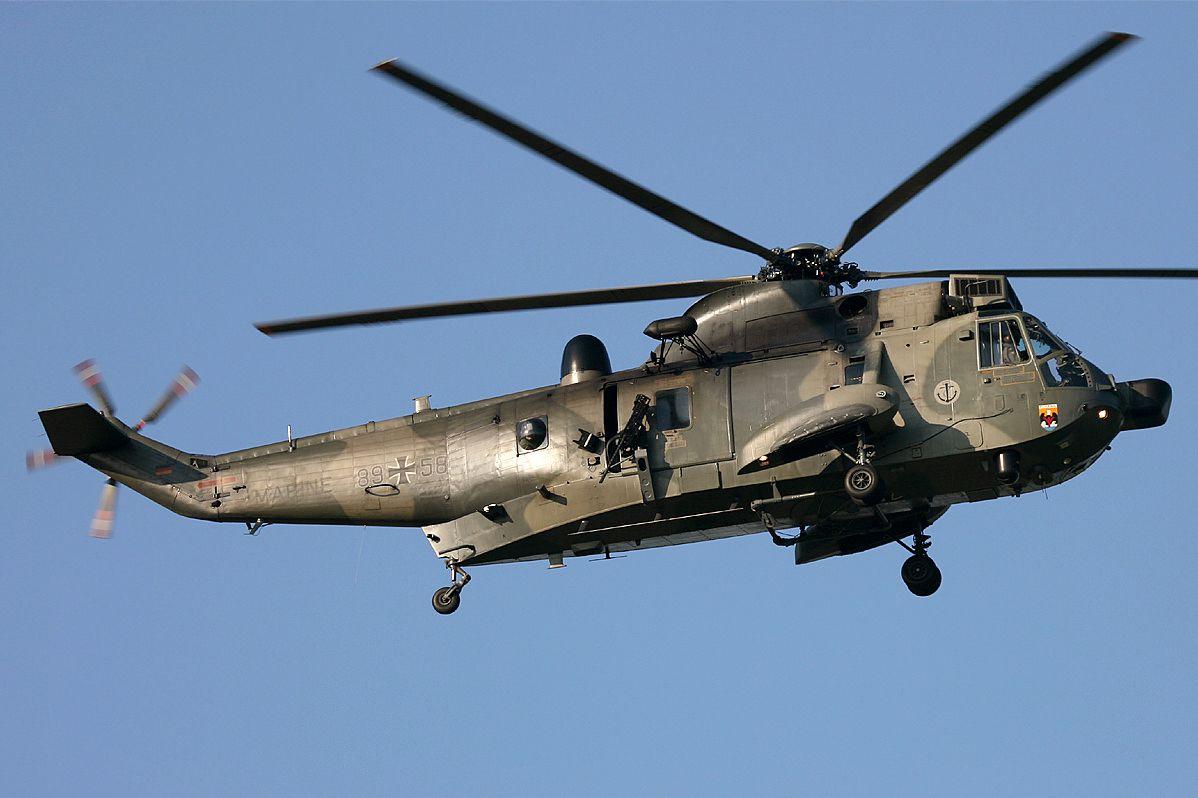 SH-3 Sea King German Marines