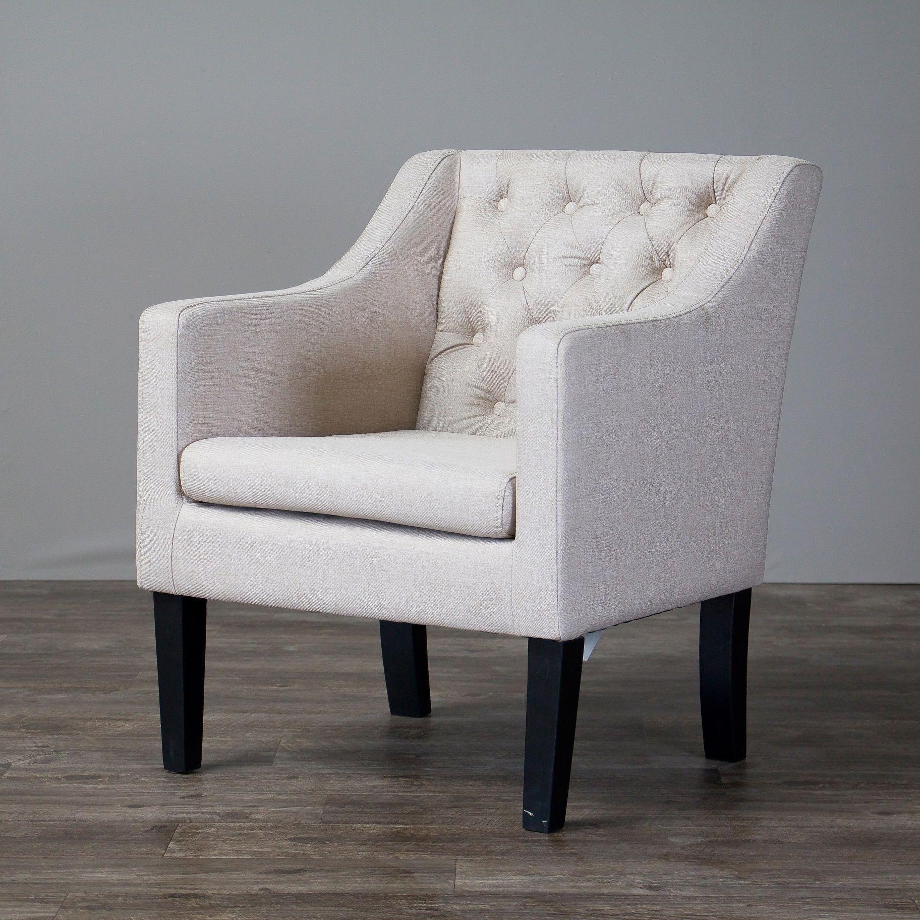 Prime Laurel Creek Larkin Upholstered Button Tufted Modern Club Gamerscity Chair Design For Home Gamerscityorg