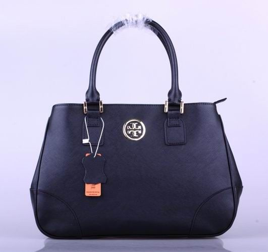 Tory Burch Robinson Tote Black Outlet Online