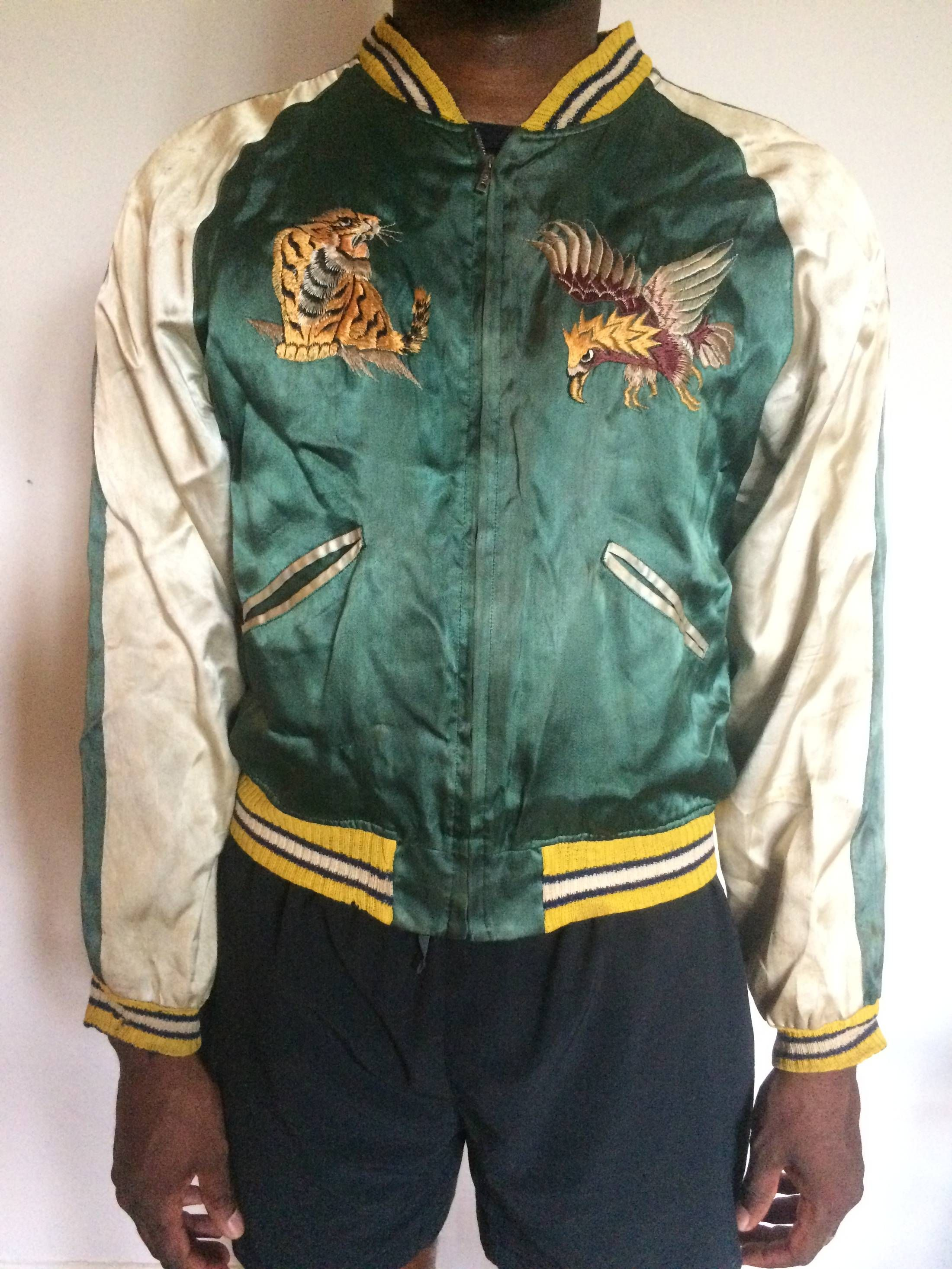Vintage Vintage Sukajan Souvenir Jacket Japan Tour of Duty