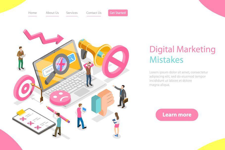 Digital Marketing Mistakes In 2020 Digital Marketing Digital Mistakes