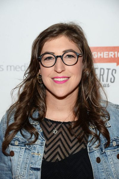 mayim bialik glasses