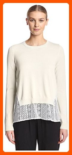 751ff478ad0f03 French Connection Women's Layered Top, Capri/White, S - All about women  (*Amazon Partner-Link)