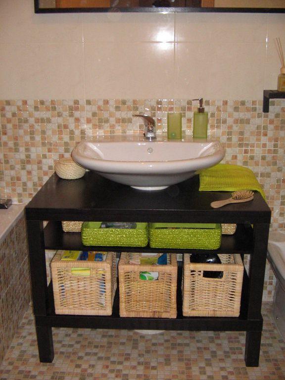 Muebles De Bano Sin Quitar Lavabo Tunear Mesa Ikea Bano Muebles