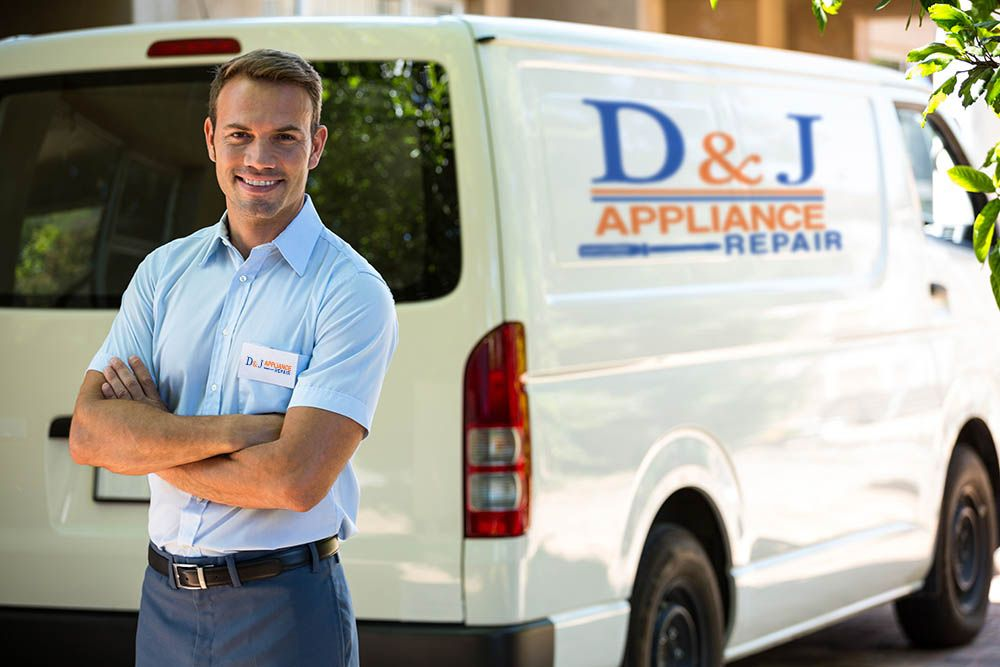 D J Appliance Repair Is Your Go To Company For Fast Dependable Appliance Services With A Team Of Expert Techn Appliance Repair Appliance Repair Service Repair