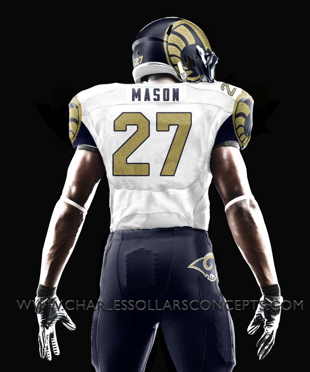Los Angeles Rams redesign concept Los angeles rams, Los