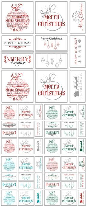 The best free christmas printables gift tags holiday greeting the best free christmas printables gift tags holiday greeting cards gift card holders negle Choice Image