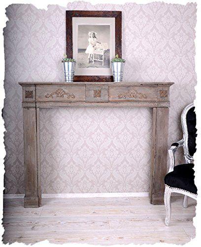 Romantische Kaminumrandung, Wandverzierung, Kaminrand, Kamin - schöne bilder fürs wohnzimmer