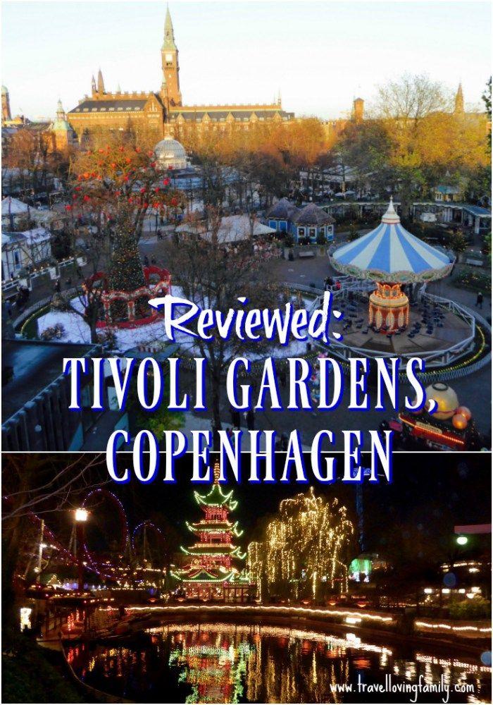 Tivoli Denmark, Copenhagen, Denmark travel