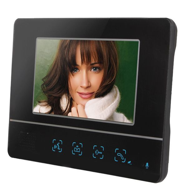 $124.86 (Buy here: http://appdeal.ru/dpt4 ) 7 Inch Color Dynamic Picture Video Doorphone Intercom & One Camera with One Monitor for just $124.86