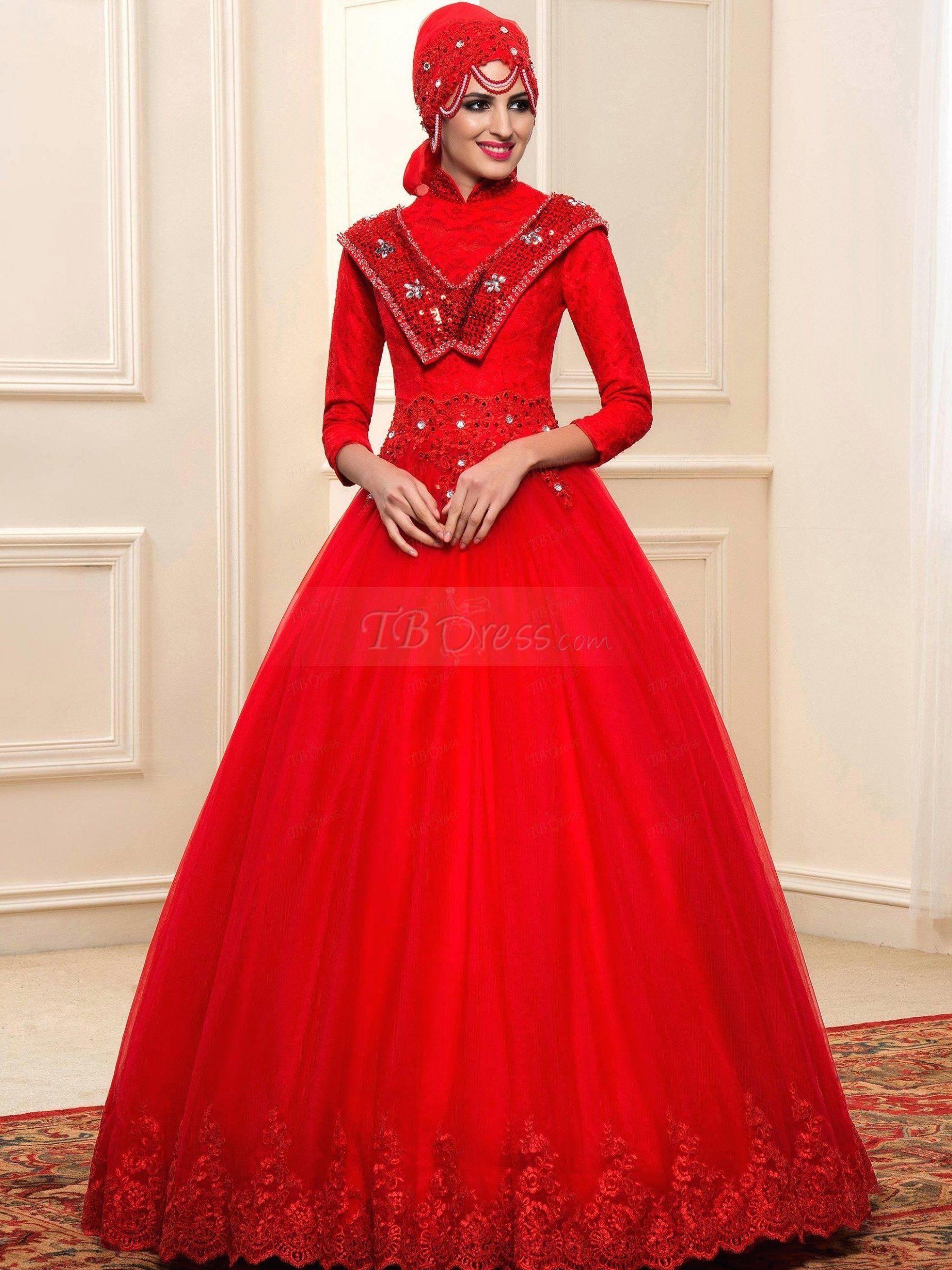 Simple Islamic Wedding Dresses Hijabiworld Weddingdresses Weddingdressesvintage Weddingdr Arabic Wedding Dresses Muslim Wedding Dress Red Wedding Dresses [ 2688 x 2016 Pixel ]