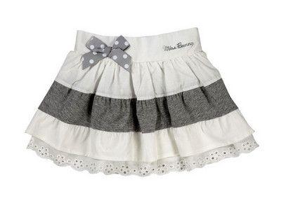 8159acd3a faldas para niñas especial volantes | ropas niñas nińos | Faldas ...