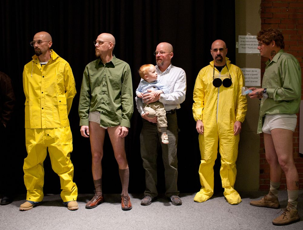 breaking bad y su concurso de dobles de walter white en httpmonkeyzen - Halloween Costume Breaking Bad