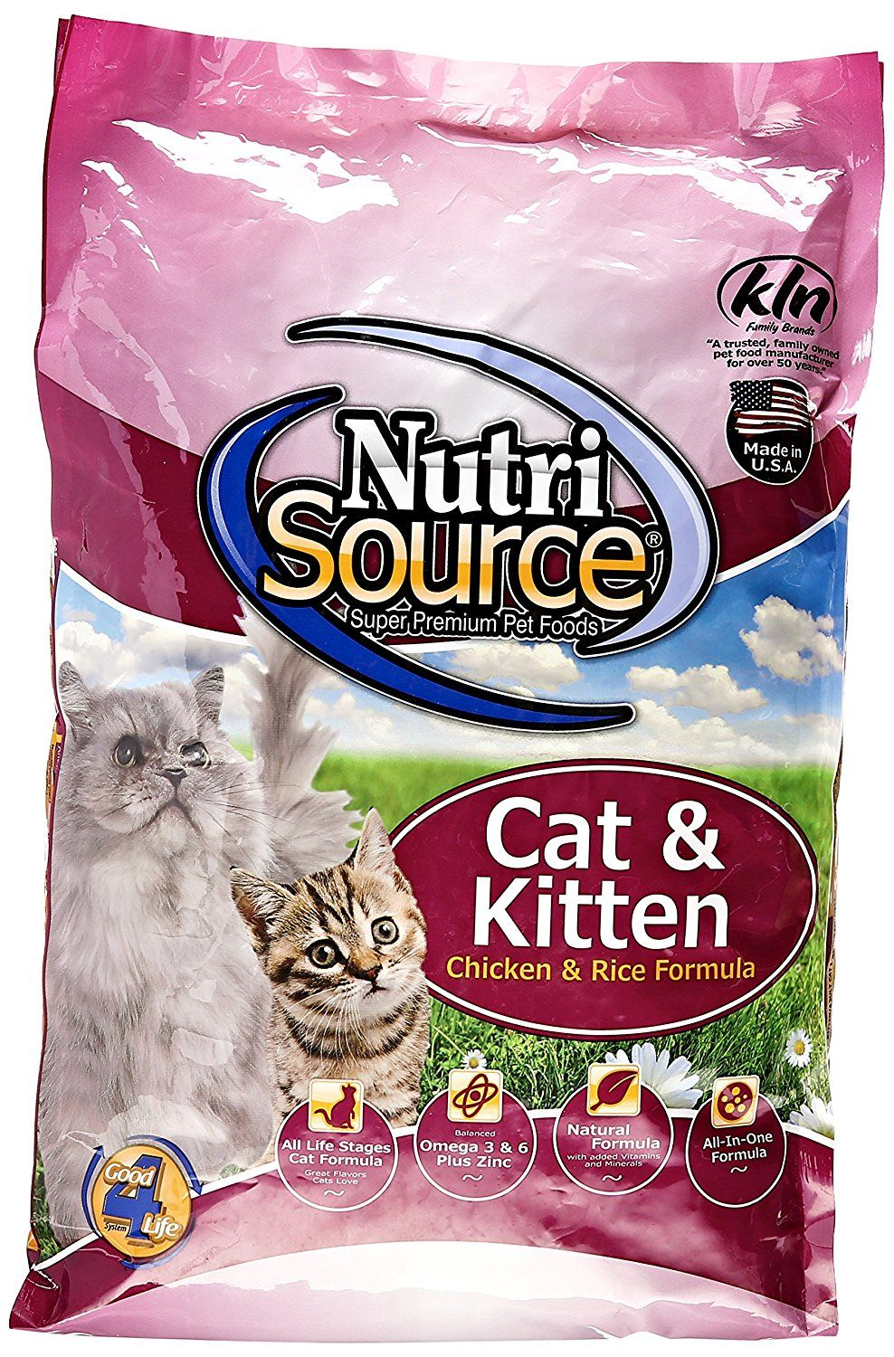 Nutri Source Cat And Kitten Chicken And Rice Check This Awesome Product By Going To The Link At The Image This Is An Affiliate Dry Cat Food Kitten Food