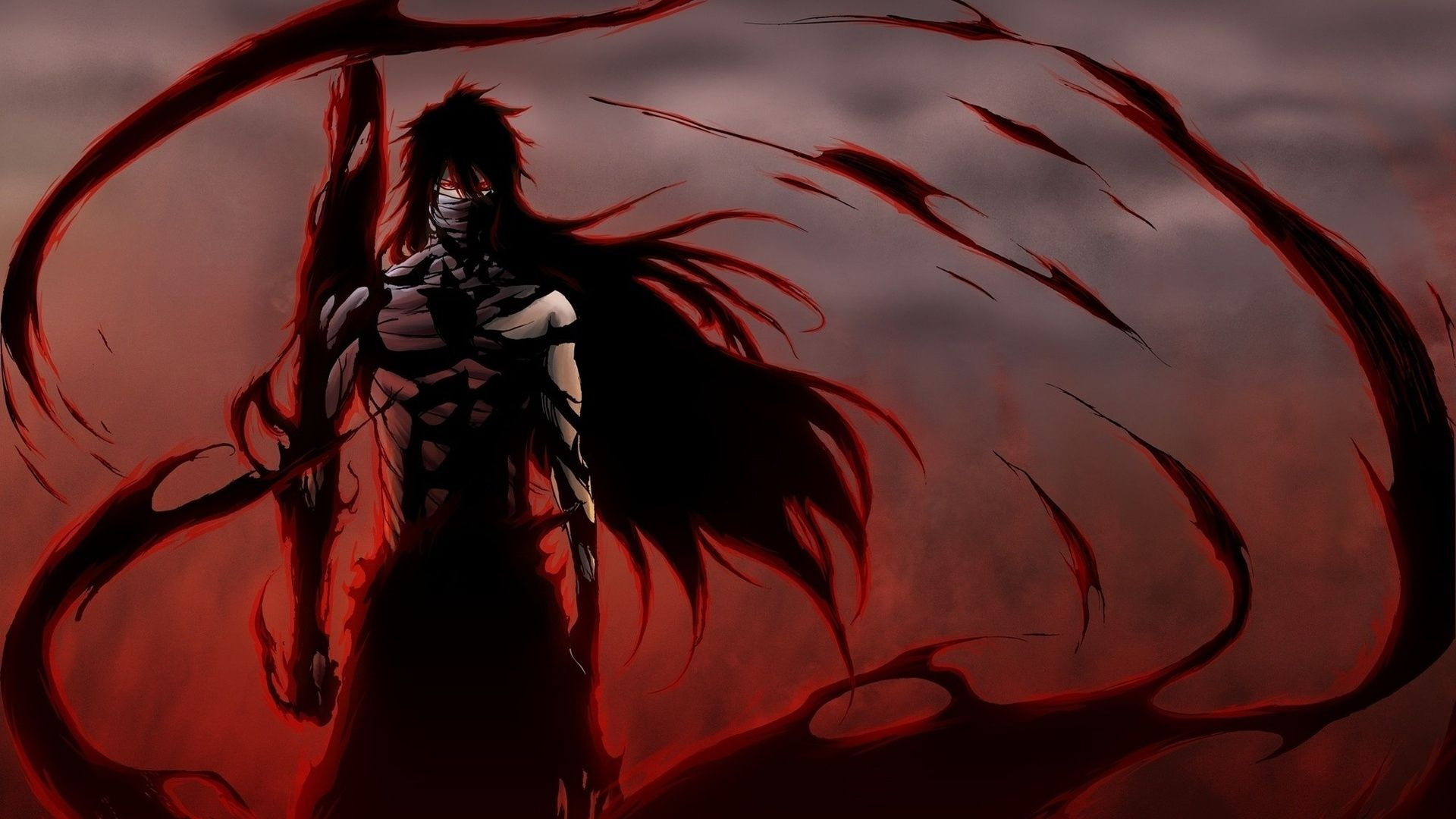 Download Wallpaper X Anime Bleach Ichego Posture Wind Background Full Hd P Hd Background