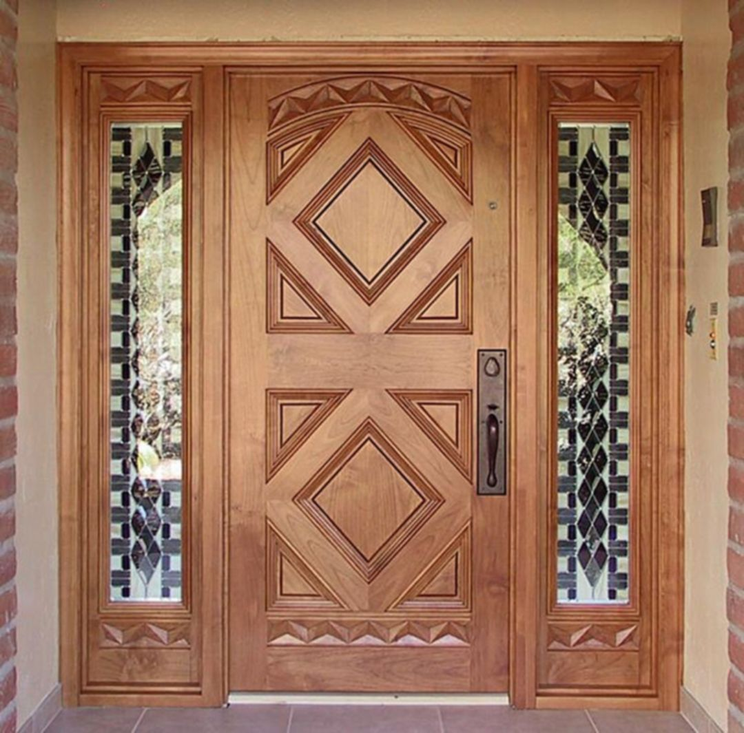 minimalist and beautiful front door design ideas for your house