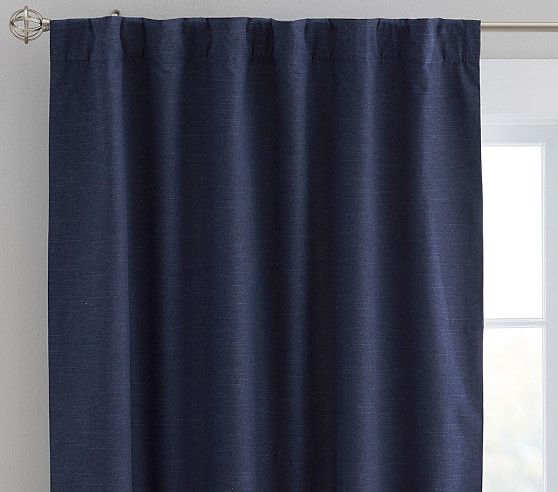 Evelyn Blackout Curtain 44 X 63 Quot Navy Kids Blackout