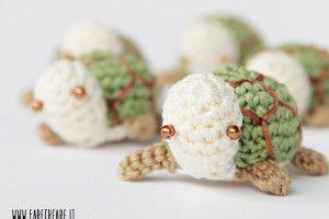 Amigurumi Tortoise Tutorial : Żółw amigurumi wzór to zrobić zabawki szydełko i druty