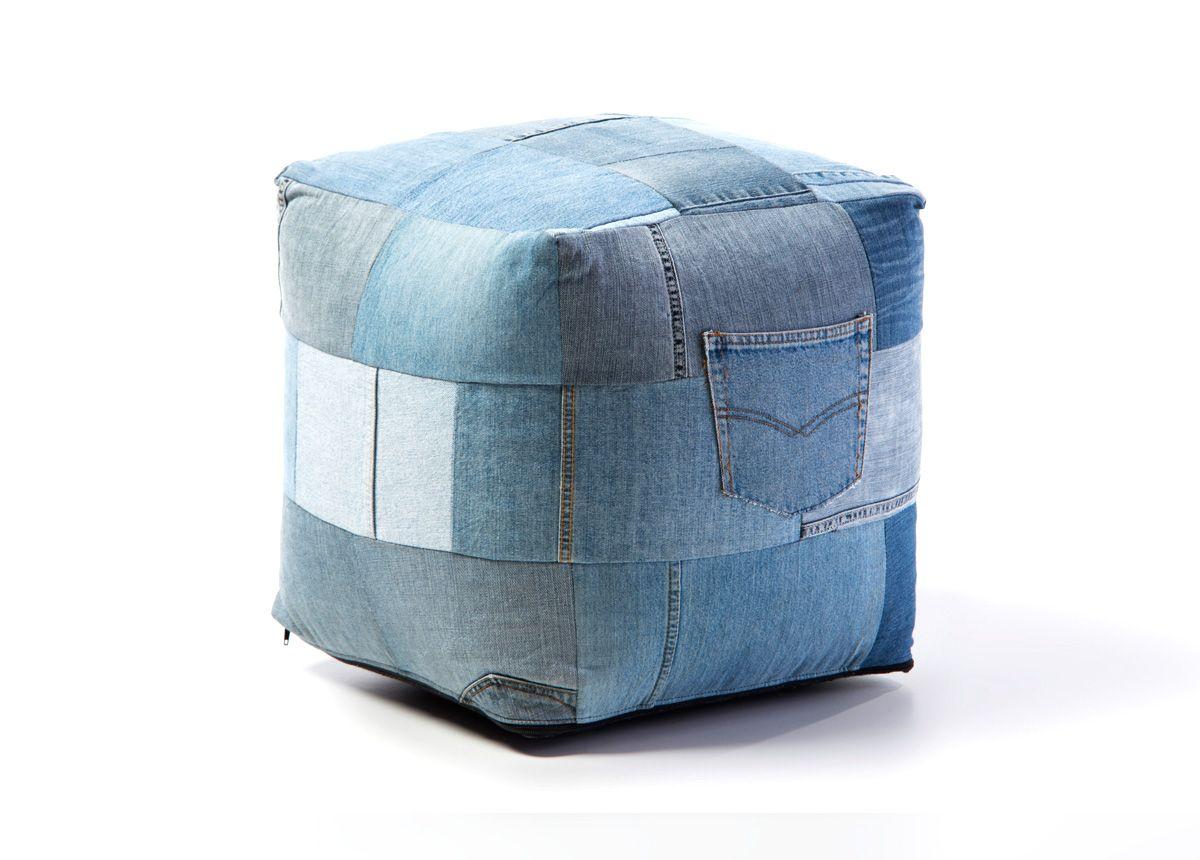 بفة جينز لكل من يحب يلاحق الموضة وغرابتها حتى في الأثاث جينز بف موضة غرابة أثاث تسوق ميداس Furniture Modern House Home Accessories
