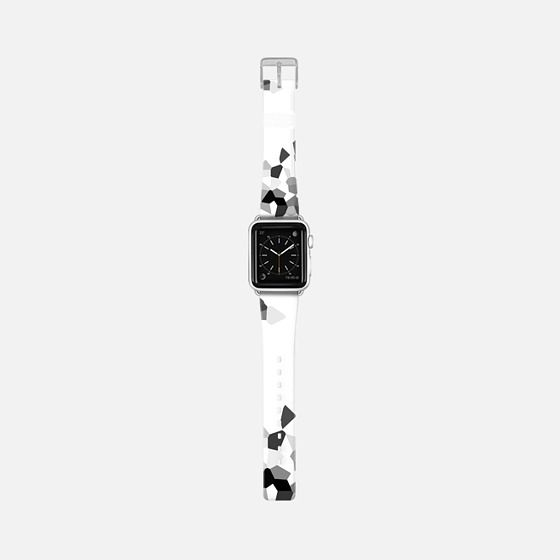 Black and White Fashionable New #applewatchband #apple #watch #band #design find it at http://bit.ly/popularapplewatchbands Apple Watch Band | Casetify |