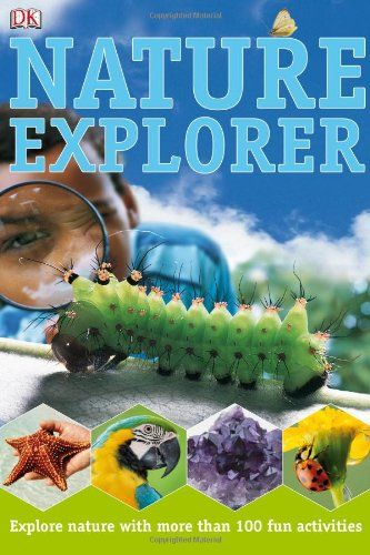 Great Nature Explorer Books to help you little one get out in nature!
