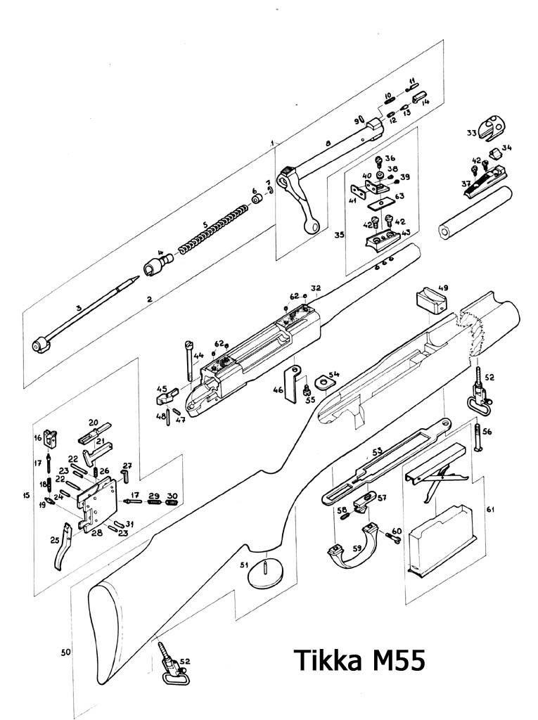 Tikka M55 Riista