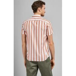 Short-sleeved shirt with stripes Ted BakerTed Baker ,  #baker #BakerTed #longnail #Shirt #Shortsleeved #stripes #Ted