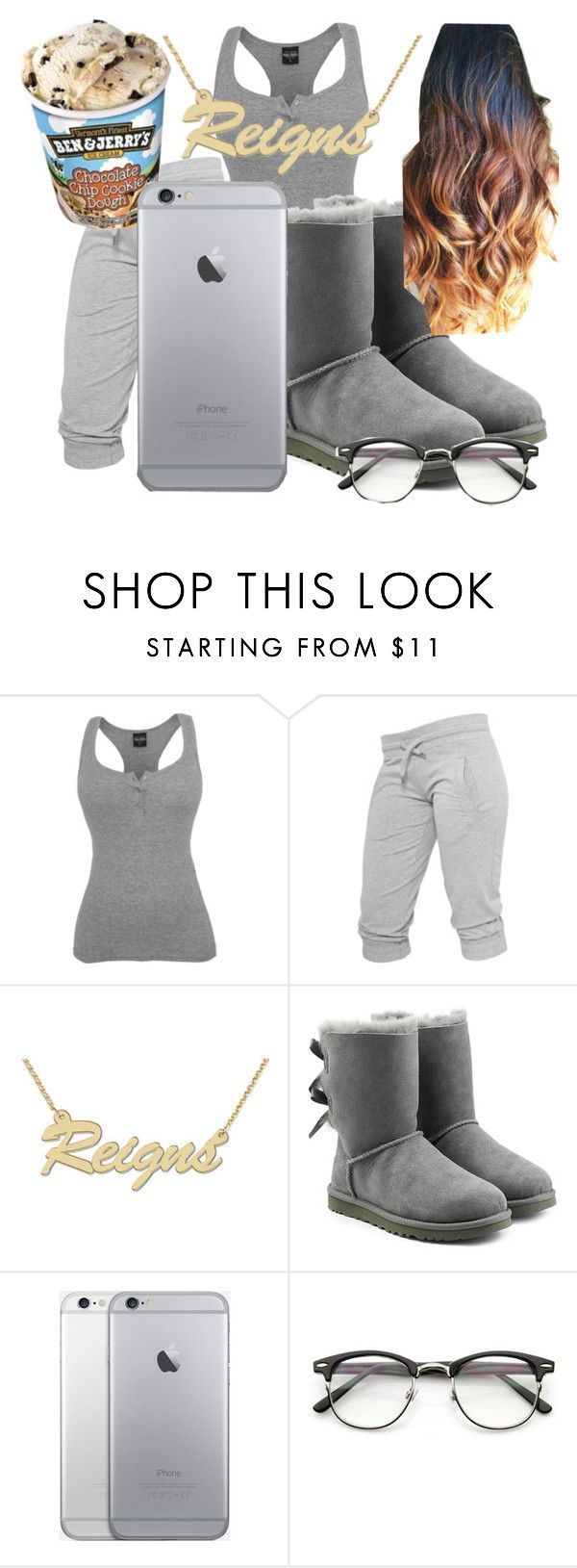 """""""Untitled #137"""" by princesscoco17 ❤ liked on Polyvore featuring UGG Australia and ZeroUV"""