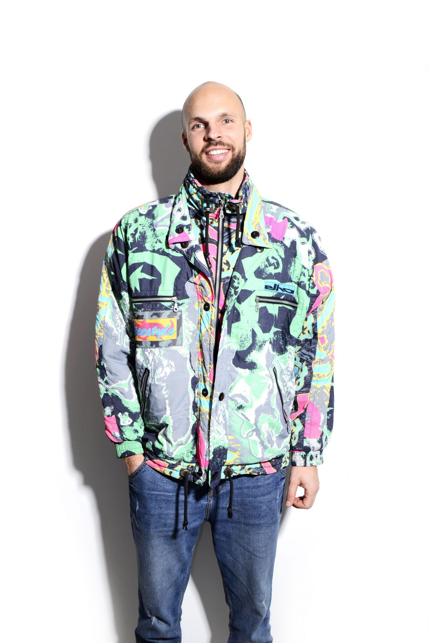 90s Crazy Ski Jacket Ski Jacket Jackets Sport Outfits