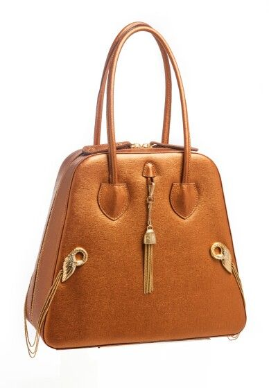 The Beth Bag in Saffiano Leather. Made in Italy by Pavoni.