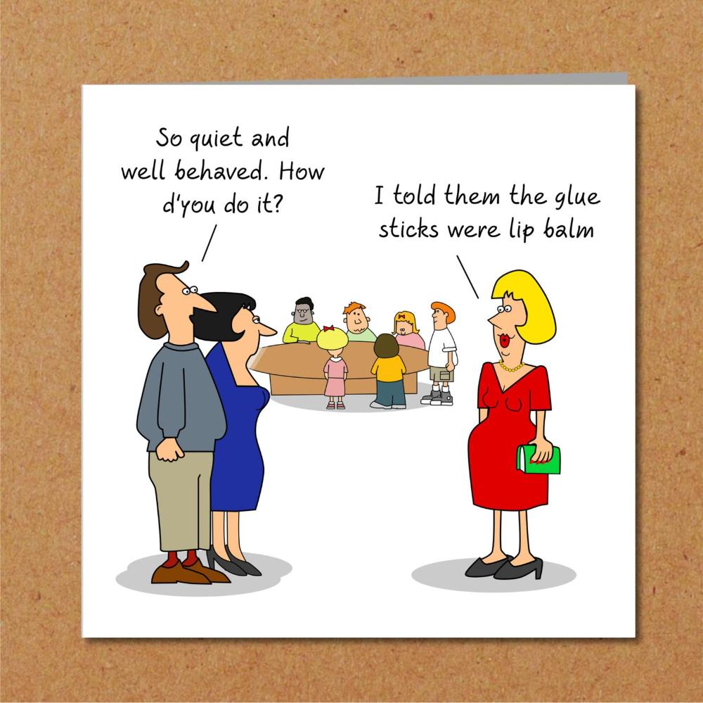 Funny Birthday Card Mother S Day Card Teacher Thank You Etsy Funny Birthday Cards Birthday Humor Teacher Thank You Cards
