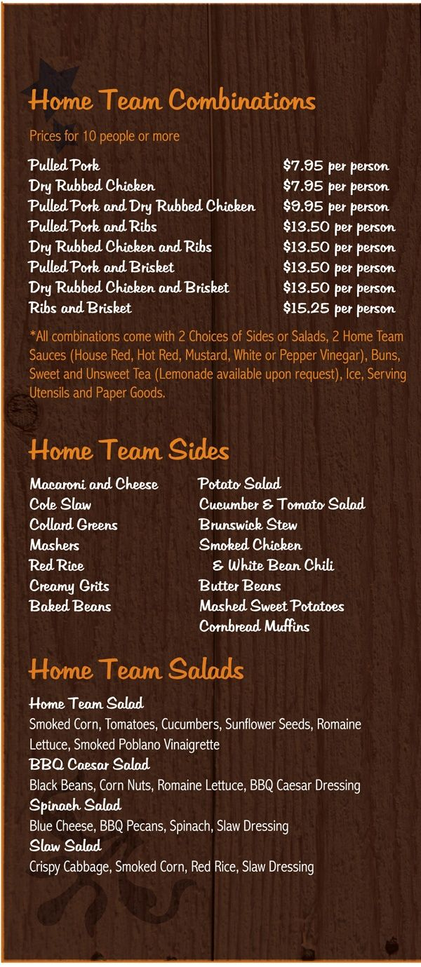 Catering Menu Rockwell Catering And Events Catering Menu Catering Food Party Food Catering