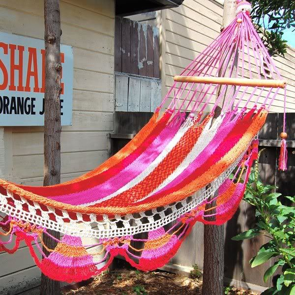 colorful hammock colorful hammock   places   spaces   pinterest   spaces gardens      rh   pinterest