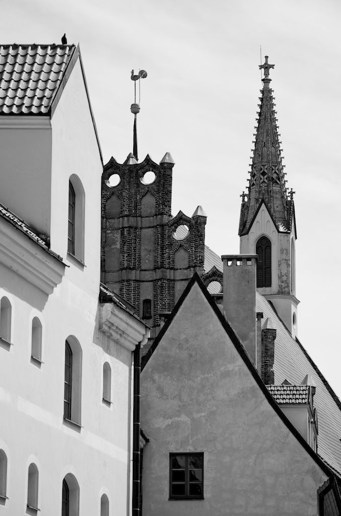 Old Riga's architecture heritage.