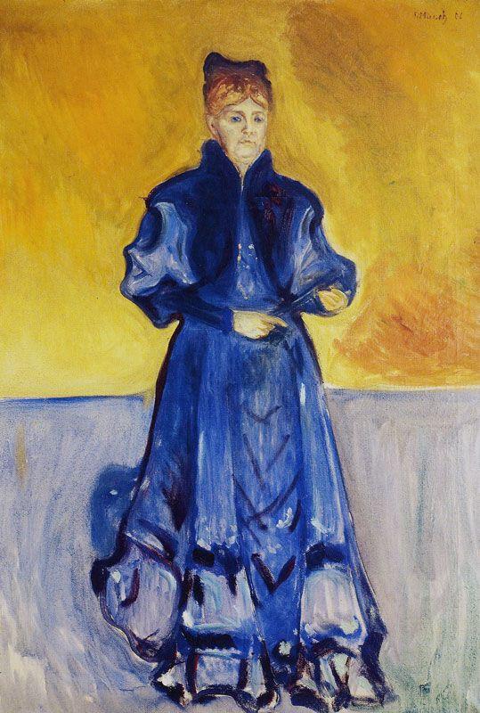 Elisabeth Forster-Nietzsche.1906 by Edvard Munch