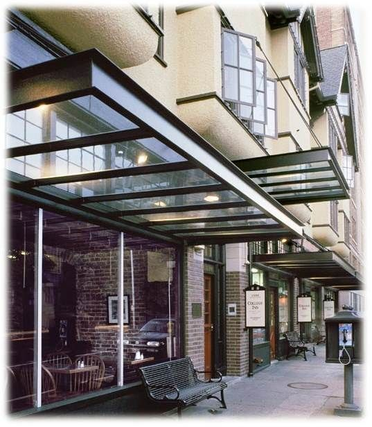 glass awning - Bing Images | Corporate | Pinterest | Canopy, Beams ...