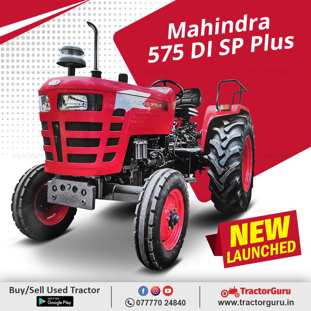 Buy New Mahindra 575 Di Sp Plus Tractor In 2020 Tractor Price