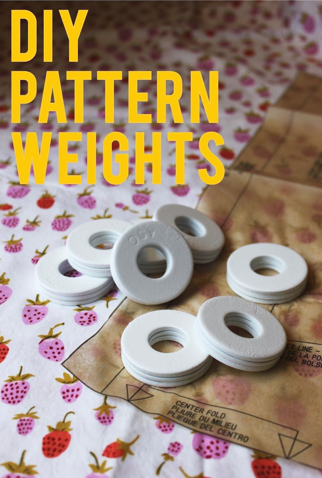 How To Plasti Dip Sewing Pattern Weights Pattern Weights Diy