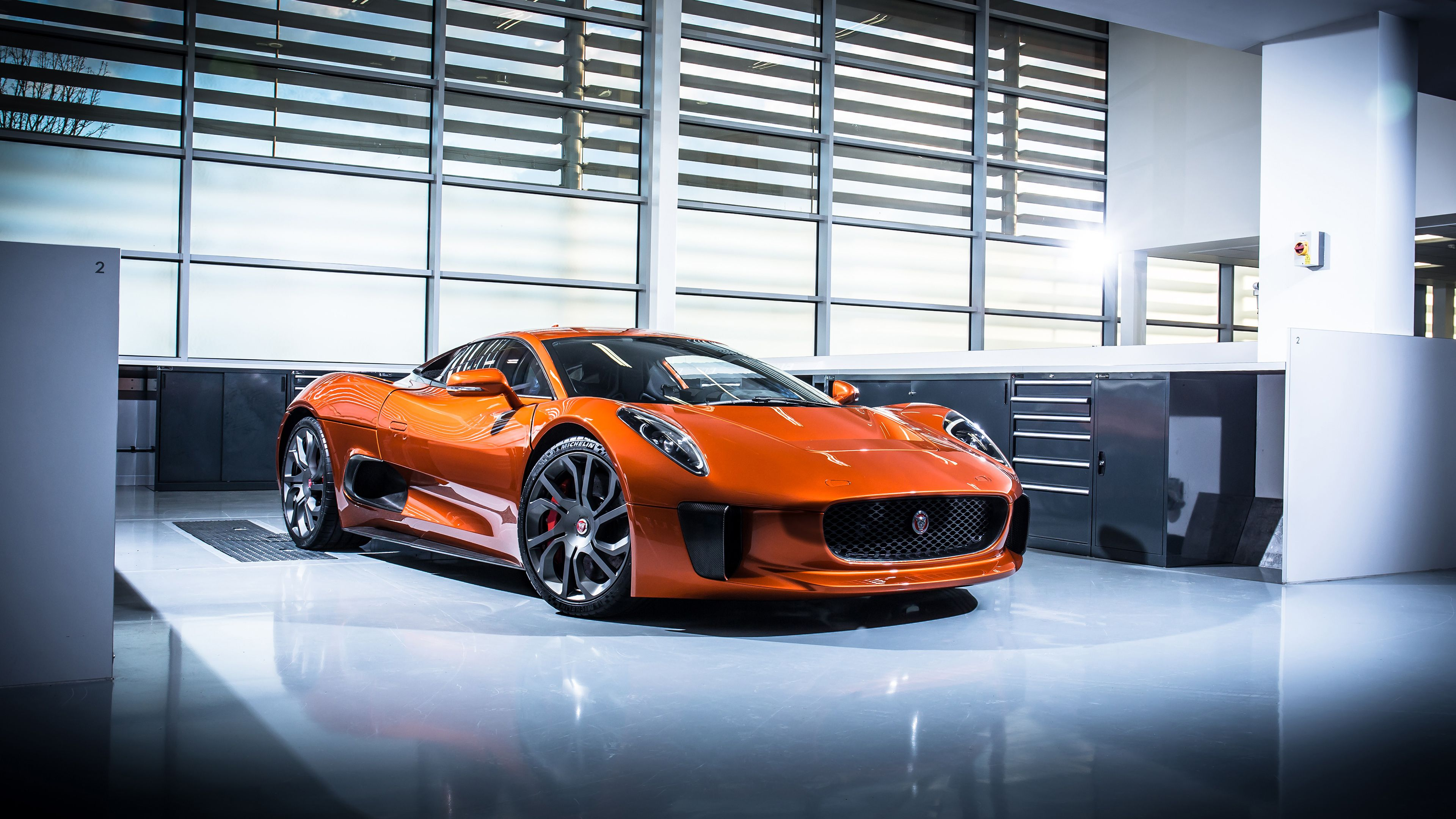 Jaguar CX 75 Prototype, As Featured In Spectre, The Most Recent Bond Movie