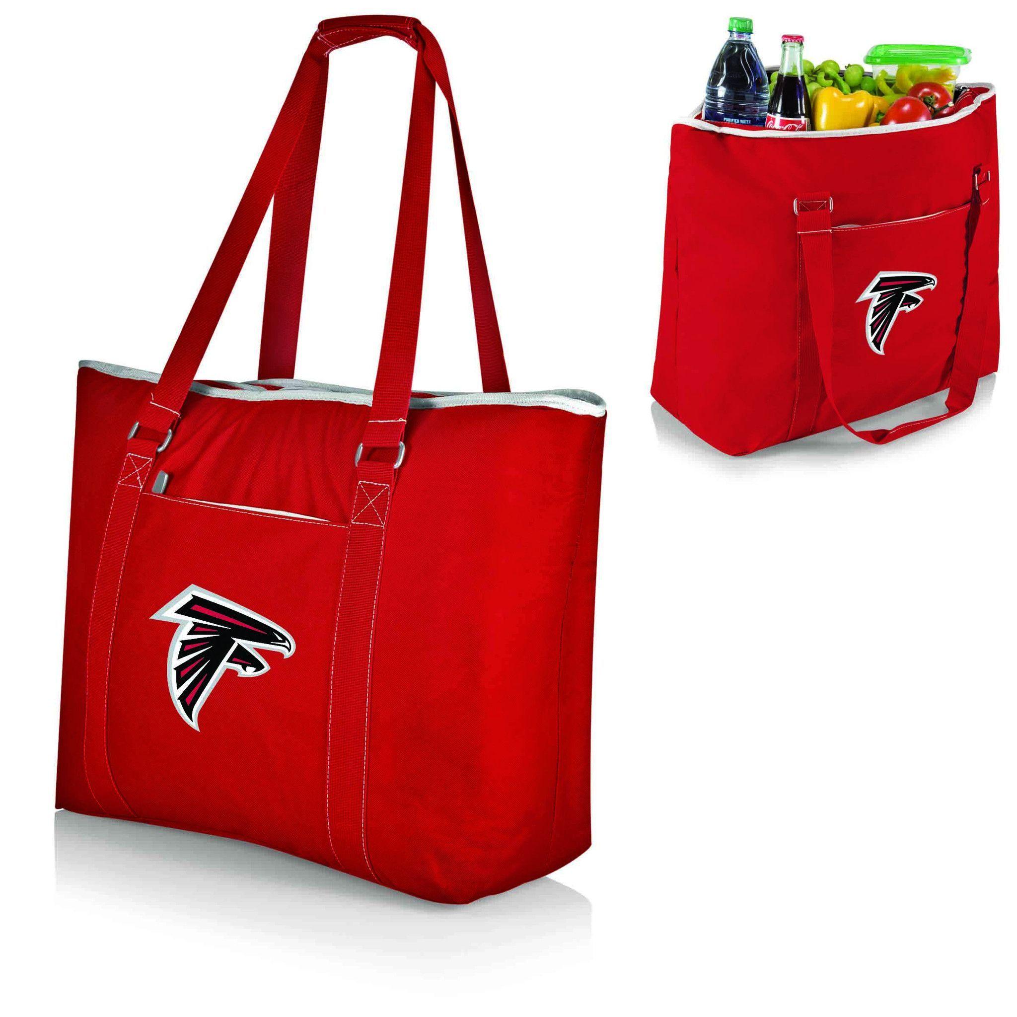 Topanga Cooler Atlanta Falcons Red Digital Print Tailgate Cooler Tote Bag