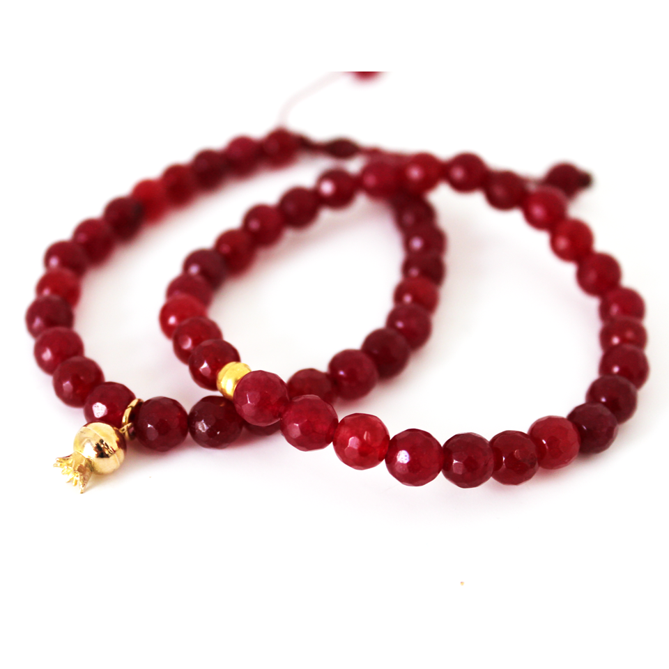 This Persian Pomegranate Bracelet Set Is Inspired By The