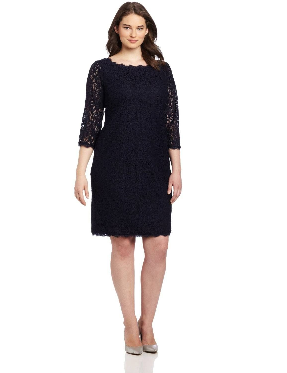 For This Seasons Holiday Parties You Can Find 3 4 Sleeve Plus Size Cocktail Dresses For All Sizes Long Sleeve Lace Dress Lace Dress Plus Size Cocktail Dresses [ 1500 x 1154 Pixel ]