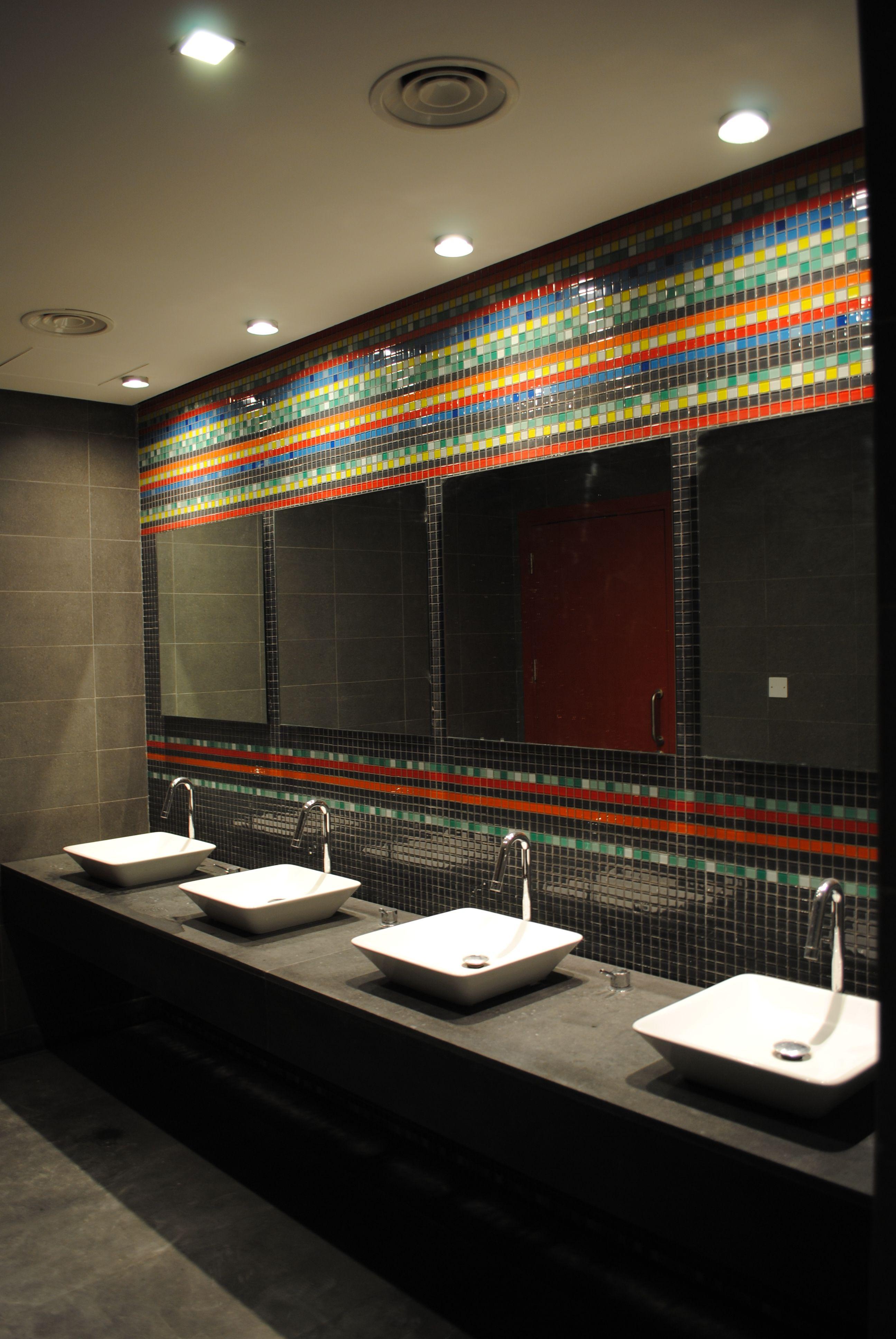 Hues Public Toilet Bathroom Lighting Design Restroom Design Toilet Design Bathroom lights ideas png