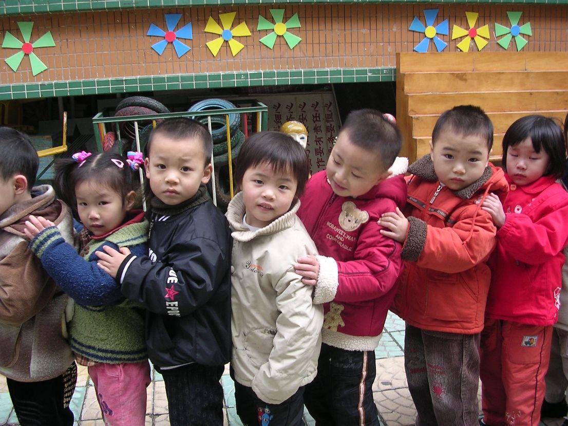 School children in Shantou, Guangdong Province, PR China