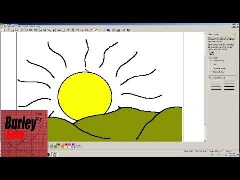 Easy Sewart Draw Your Own Embroidery Design Youtube Sewartwhat